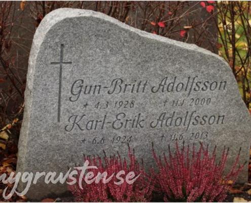 Exempel på gravsten