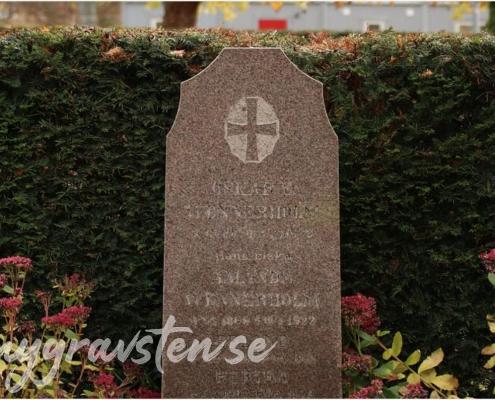 Exempel på kors till gravsten